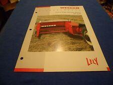 (DRAWER 1) Lely Welger Extra High Density Balers AP 630 Brochure Specs Data