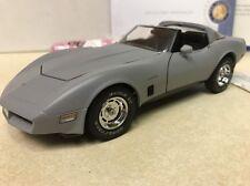 Rare 1/24 Franklin Mint Primer 1982 Corvette Ttops S13E428 1 of 9