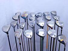 Lot of 24 Golf Club Fairway Woods Callaway Nike Cobra Mizuno Titleist MSRP $2300