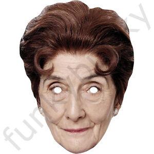 June Brown - Dot Cotton - Eastenders Celebrity Card Mask - Masks Are Pre-Cut!