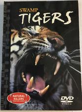 3 SWAMP TIGERS DVD VIDEO & 24 Page Book Natural Killers Predators Close-up