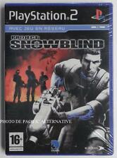 NEUF - jeu PROJECT SNOWBLIND sur playstation 2 sony PS2 fps spiel juego NEW