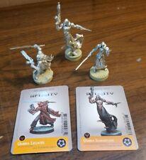Corvus Belli Infinity the Game Combined Army Umbra Samaritan, Legate DA-CC/Hacke