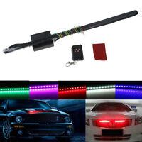 Waterproof 7 Color 5050 48 LED RGB Flash Car Strobe Knight Rider Light Strip Kit