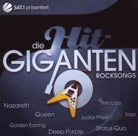DIE HIT GIGANTEN - ROCKSONGS 2 CD MIT QUEEN UVM NEUWARE