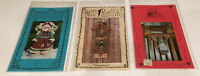 VINTAGE NEW LOT OF 3 Tole PATTERNS COUNTRY FOLK ART CRAFTS WELCOME HOME FRIENDS