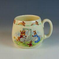 Vintage 1954 Royal Doulton Bunnykins Mug Cup
