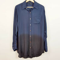 GINGER & SMART | Womens Gradient Shirt Top [ Size AU 6 or US 2 ]