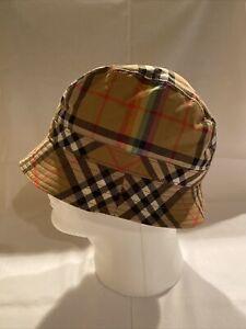 Burberry Rainbow Stripe Bucket Hat Size S/M