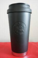 Starbucks Korea 2016 limited edition SS Siren Black Matt Elma Tumbler+Tracking