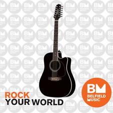 Takamine EF381SC Legacy Series Acoustic Guitar 12-String Drednought Black Pickup
