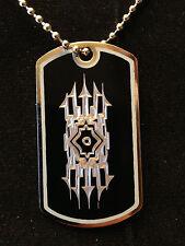 Final Fantasy L'Cie Mark Dog Tag Necklace handmade final fantasy lightning