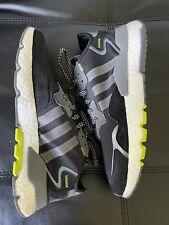 Adidas Nite Jogger Reflective Black Sneakers EG7191 Men's sz. 11.5 Boost VNDS