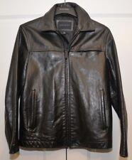 Banana Republic Black Leather Jacket Men's Size S