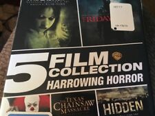 HARROWING HORROR 5 FILM COLLECTION DVD SET New