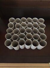 30 Empty Toilet Paper Rolls Tube Cardboard Cores Kids Crafts Art Supplies School