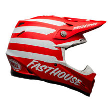 Bell 2020.1 Moto-9 Mips Adult Motocross Helmet Fasthouse Signia Red/White Small