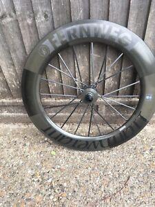 Lightweight Fernweg carbon clincher disc rear wheel Ceramicspeed