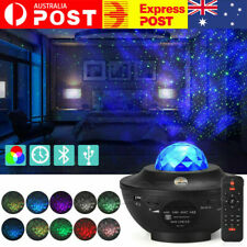LED Night Light Galaxy Starry Projector Ocean Star Sky Party Baby Room Lamp Gift