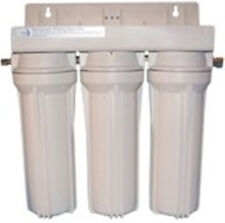 TRIPLE UNDER SINK  FILTERS WITH IONIZER ALKALINE FILTER AND CARBON FILTERS