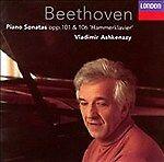 Beethoven Piano Sonatas Opp.101 & 106 'Hammerklavier' Vladimir Ashkenazy CD NEW
