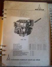 Deutz Motoren F4L714 Ersatzteilliste