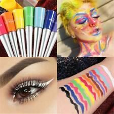 12 Colors Eyeliner Pencil Neon Green White Matte Liquid Waterproof Makeup-Sexy