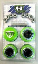 HYPER HOCKEY Inline Skate Wheels Hi/Lo 72mm/80mm Performance Combo 8-Pack []