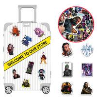 50 Cyberpunk Skateboard Stickers Motorcycle Bike Luggage Decals Vinyl Stickers