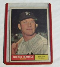 Mickey Mantle baseball card Topps #300 New York Yankees outfield LOOK RARE