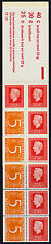 Netherlands 460Bd Booklet PB14b MNH Queen Juiliana, Numeral