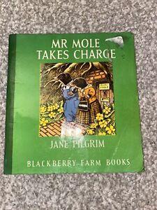 BLACKBERRY FARM MR MOLE TAKES CHARGE BY JANE PILGRIM PB BOOK 1981