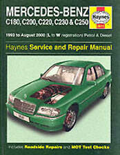 Mercedes-Benz C-class Petrol and Diesel (1993-2000) Haynes Repair Manual