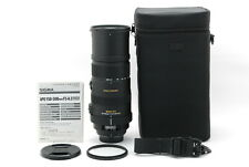 *TOP MINT w/Case* Sigma 150-500mm F/5-6.3 APO HSM SLD DG OS Lens For NIKON#JAPAN