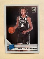 2019-20 Donruss Optic Nicolas Claxton Rookie Card #171 - MINT! WOW!! MUST SEE!!!