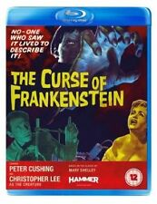 The Curse of Frankenstein Blu-ray UK BLURAY