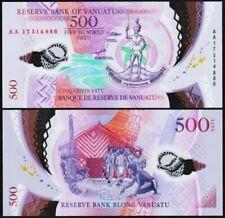 Billets de banque de l'Océanie, de Vanuatu