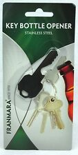Key Bottle Opener Stainless Steel Looks Real Keep On Key Ring Always Ready Bnip