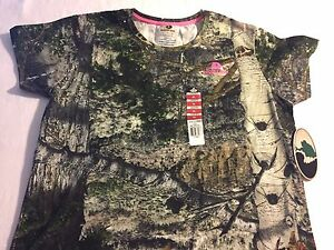 Mossy Oak Mountain Country Camo Ladies T Shirts - You Choose - Hunting Archery