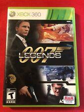 007 Legends (Microsoft Xbox 360, 2012) (CIB) (GD)
