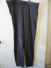 brand new with tags size 20 dark grey womens trouser stretch pants zip on cuffs
