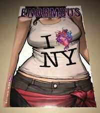 ENORMOUS #9 RARE NEW YORK COMIC CON VARIANT !!