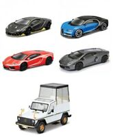 Bburago 1:43 Scale Diecast Street Fire Model Car Many Models