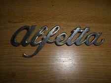 Emblem Badge Alfa Romeo Alfetta aus Metall, ca. 14,5 x 5 cm