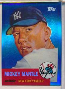 2008 TOPPS MICKEY MANTLE BLUE #MMR53 NY YANKEES W1133