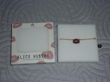 ♥ promo -70% ♥ bracelet bouche rouge Alice Hubert femme neuf dans son emballage