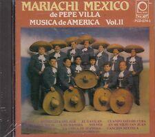 Mariachi Mexico De pepe Villa Musica De America Vol 2  CD New Sealed