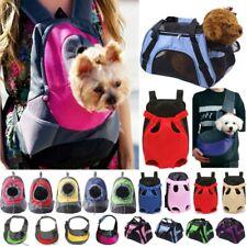 Hands Free Pets Sling Carriers Bag Cat Dog Breathable Mesh Travel Sling Bag New