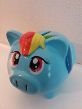 2014 FAB My Little Pony Mini Piggybank, Rainbow Dash