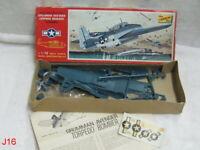 Vintage LINDBERG Line Model Kit 480:100 Gruman Avenger Torpedo Bomber